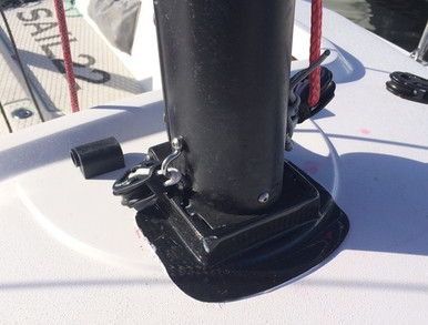 J/70 Mast Base Guard - Carbon - Sail22