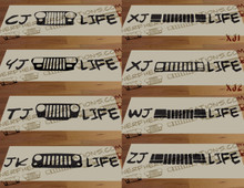 Grill-Life Decal