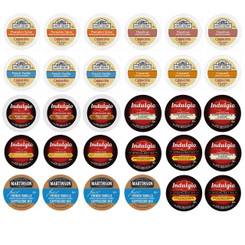 30-count Cappuccino Single Serve Cups Variety Pack Sampler