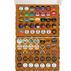 70-Count Gift Box of Coffee Single Serve Cups Variety Pack Sampler