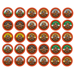 30 Count Crazy cups Premium Hot Chocolate/cocoa Single Serve Cups For Keurig K cup variety pack Sampler