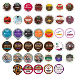 40-count Coffee Only Single Serve cups for Keurig K Cup Brewers Variety Pack Sampler