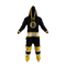 Boston Bruins onesie pajamas by Hockey Sockey - front view