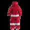 Detroit Red Wings NHL Onesie Pajama - rear view