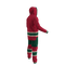 Minnesota Wild NHL Onesie - 120 degree angle rear view