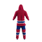 Montreal Canadiens NHL Onesie Pajama - rear view