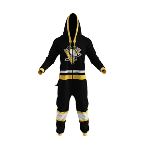 Pittsburgh Penguins NHL Onesie (New 2016 Logo)