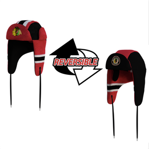 Chicago Blackhawks NHL Reversible Trapper
