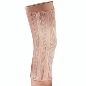 ELASTIC KNEE BRACE W/SPIRAL STAYS