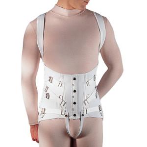 Men's Full Back Osteoporosis Dorsolumbar Support with Shoulder Straps