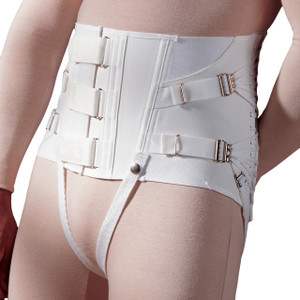 Men's Lumbar Chronic Pain Back Support With Cinch-It Closure