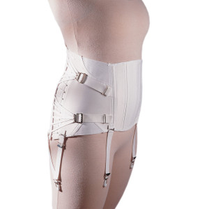 Freeman Women's Lumbosacral Support Lower Back Brace Two-pull Side Lace