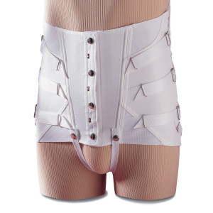 Men's Minor Fracture Lumbosacral Support w/Snap Button Closure