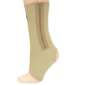 Neoprene Ankle Support w/Zipper -Side