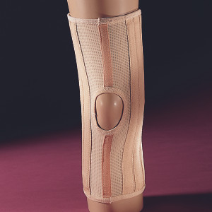 Elastic Lightweight Spiral Knee Brace w/Condyle Pads