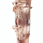Laced Hinged Knee Brace