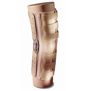 Elastic Hook 'n Pile Hinged Wraparound Knee Brace