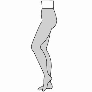 Women's Fashion Plus Compression Pantyhose