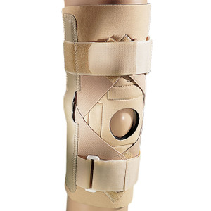Crisscross Hinged Knee Stabilizer