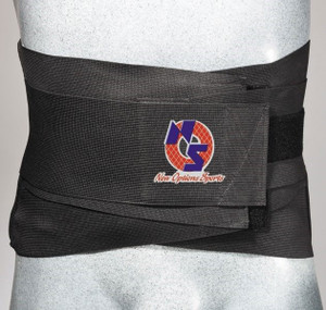 Elastic Lumbar Support With Neoprene Pocket