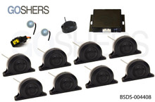 Blind Spot Detection System #BSDS-004408, for Commercial Truck and Trailers
