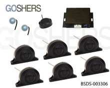 Blind Spot Detection System #BSDS-003306, for Small Bus, Box Truck and RV's.
