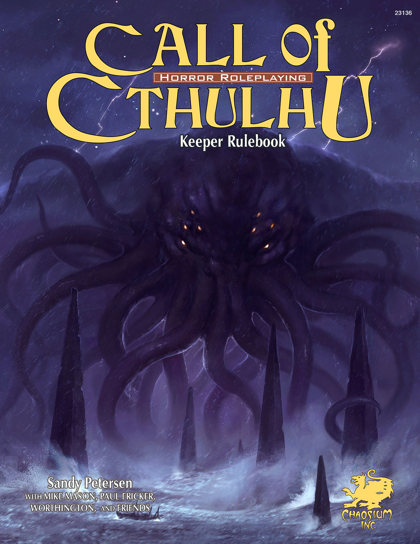 Call of Cthulhu 7th Edition Keeper Rulebook -  Chaosium Inc