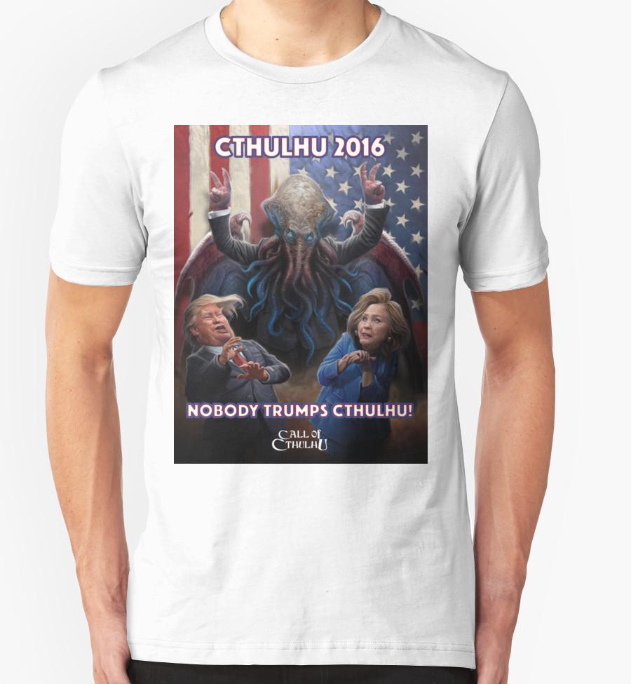 T-Shirt - Nobody Trumps Cthulhu