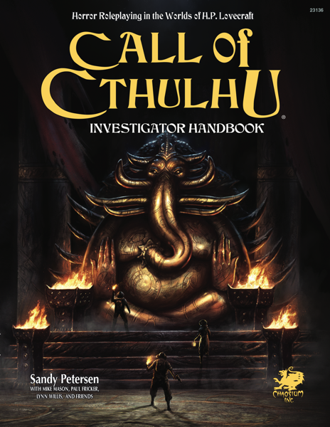Investigators Handbook: Call of Cthulhu 7th Edition -  Chaosium Inc
