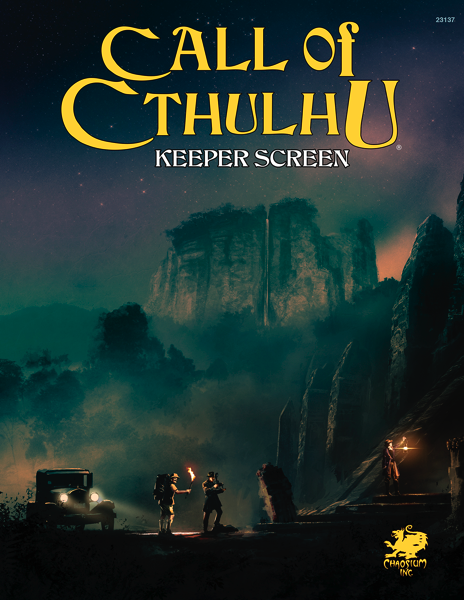 Call of Cthulhu 7th Edition Keepers Screen Pack -  Chaosium Inc