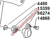 14868 HANDLE LOCK SCREW -