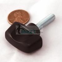 Minn Kota depth collar screw knob. Zinc plated screw.