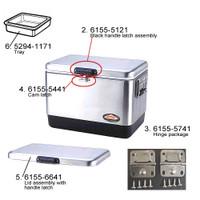Coleman 6155-6641 Lid Assy, Steel Belted Cooler