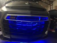 F3 RGB MULTI- COLOR GRILLE INTAKE LIGHT KIT with IT'S OWN RF CONTROLLER FOR STAND ALONE USE