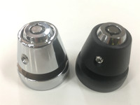 LIDLOX HELMET PAIR LOCK SET (CHOOSE BLACK OR CHROME)