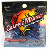 Leland Crappie Magnet 1.5' 15ct Midnight Blue