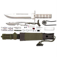 Maxam 12pc Survival Knife Set