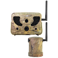 8 MP, Wireless Trail Cam System, 250 ft, Camo