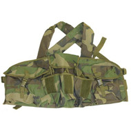 AK Chest Rig - Woodland Camo