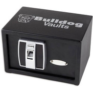 "7.25"" x 11"" x 8"" Digital Pistol Vault w/Biometric Lock"
