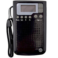 Weatherband Radio, Black