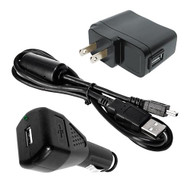 ActionCam Accessory ValuePack w/AC/DC Charger/USB