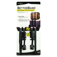 "Better Bands - 25"", Black, Per 2"