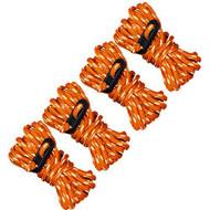 Guy Line Reflective,  Orange/Reflective,, 4 Pack