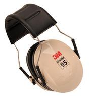 95 Behind-the-Head Earmuffs - Beige/Black