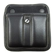 7922 AccuMold Elite Triple Threat II Magazine Pouch - Plain Black, Size 2