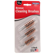 12 Gauge Bronze Brush 3 Pack