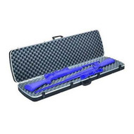 Deluxe Gun Case - Double Scoped Rifle, Black