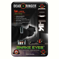 Snake Eyes Combo Sight - Heckler & Koch USP 9/45, Green Front and Rear