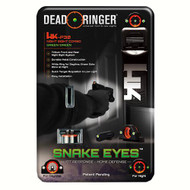Snake Eyes Combo Sight - Heckler & Koch P30, Green Front and Rear